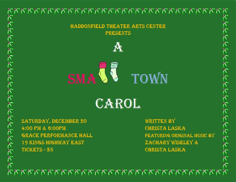 Small Town Carol Advertisement