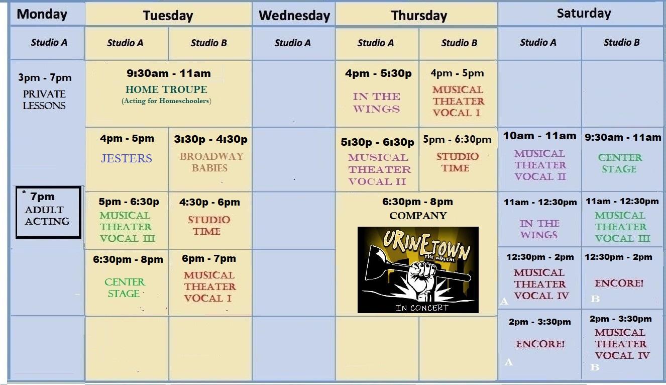 Classes & Tuition   Haddonfield Theater Arts Center